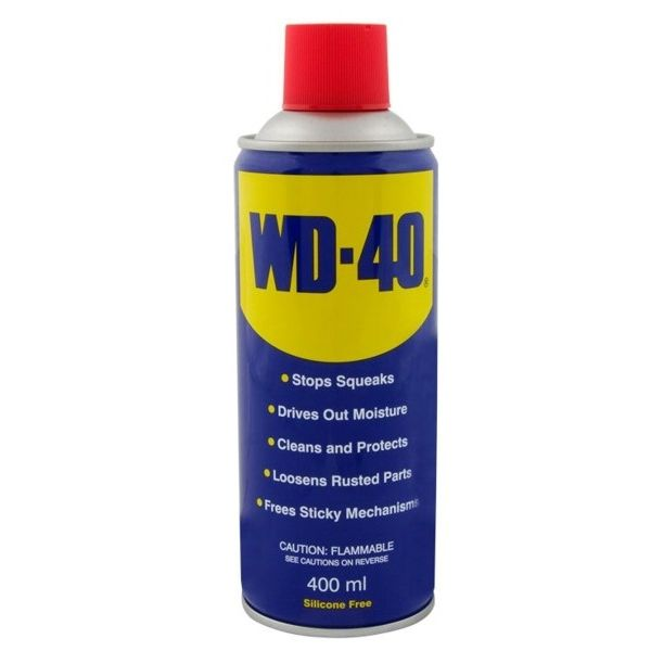 Spray lubricante multiuso WD-40.