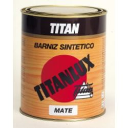 BARNIZ.TITANLUX MATE         375ML