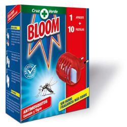 BLOOM ELEC PAST AP+R +10 PAST 24 MAQUINA ANTIMOSQUITOS BLOOM TABLETAS