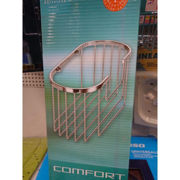 Contenedor COMFORT 28,5x12x14cm, latón