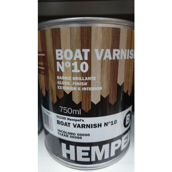 HEMPEL BOAT VARNISH 01100 Nº10 brillante 750ml