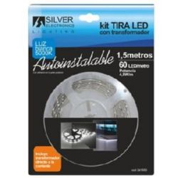 TIRA LED 1,5 MTRS KIT 30 LED/M 4,8W 5000K