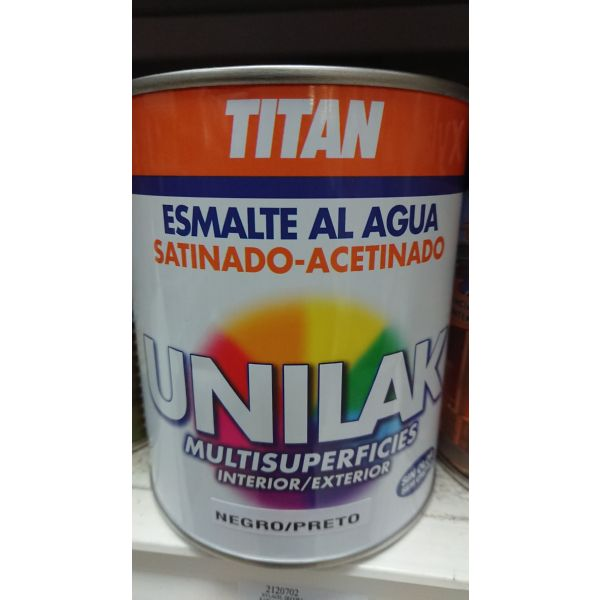 UNILAK SATINADO NEGRO 750ML